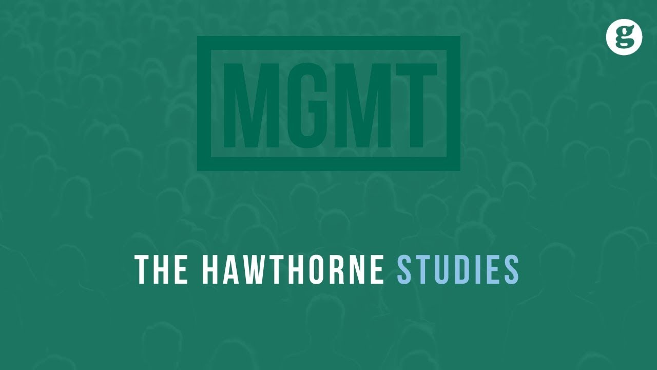Download The Hawthorne Studies