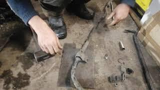 Как поменять передние втулки стабилизатора.