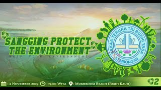 #1 SANGGING PROTECT THE ENVIRONMENT // Mashroom Beach Nusa Lembongan