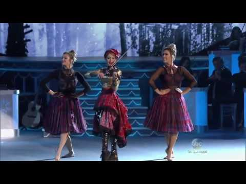 Janaya French Performing With Lindsey Stirling, Celtic Carol