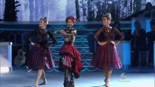 Janaya French Performing With Lindsey Stirling Celtic Carol