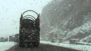Crossing Bolan Pass from Quetta to Sibbi, Balochistan
