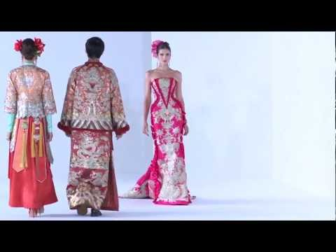 Guo Pei Ci Couture 2013 Fashion Show - #DigitalFashionWeek S