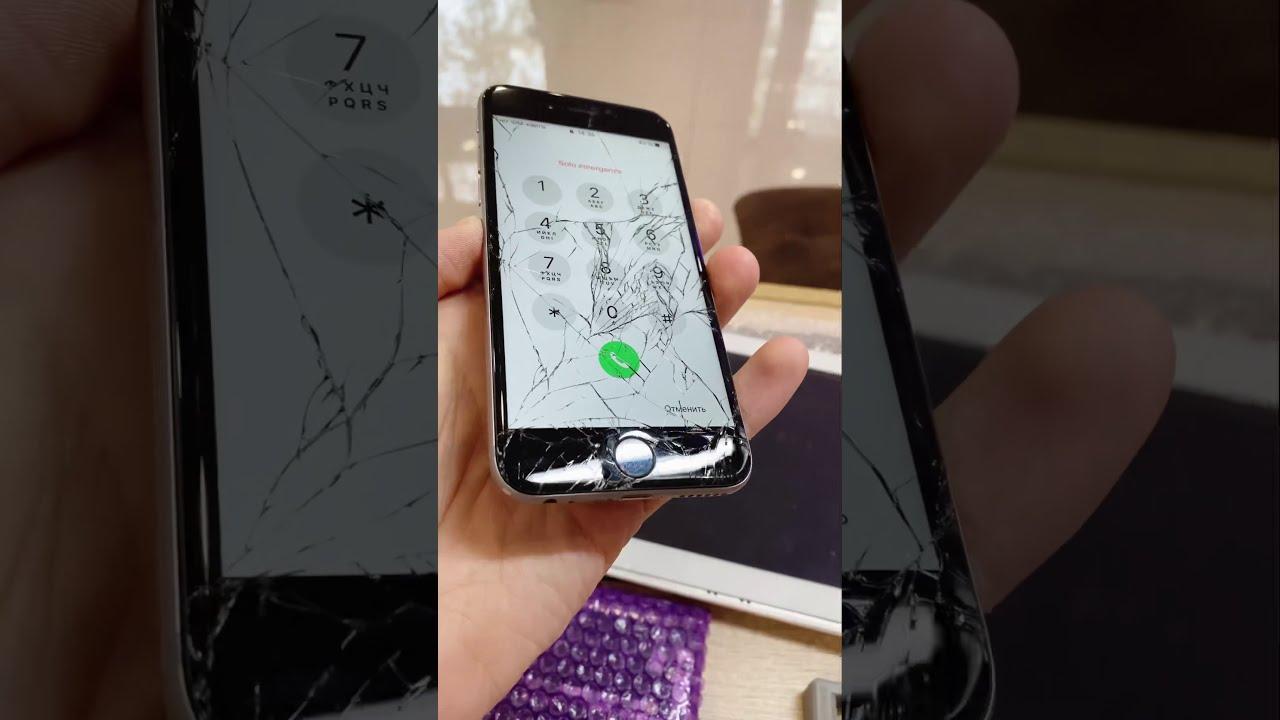 Заменить Стекло iPhone 6 в Тюмени