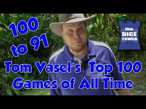 Tom Vasel's Top 100 Games: #100-#91