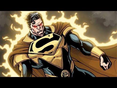 Omega/Beyond Omega Level: Yellow Lantern Superman