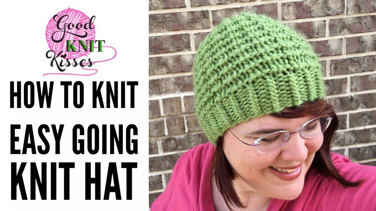 362487f5423 Easy Going Knit Hat by Kristen Mangus (CC) - YouTube