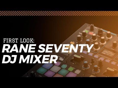 Rane SEVENTY DJ Mixer First Look From Skratch School & Skratch Bastid