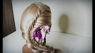 Мастер-класс«Техника плетения кос»Красивые косы.Course on hairstyles.Beautiful hairstyles.