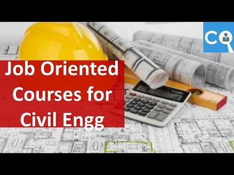 Job Oriented Courses for Civil Engineers