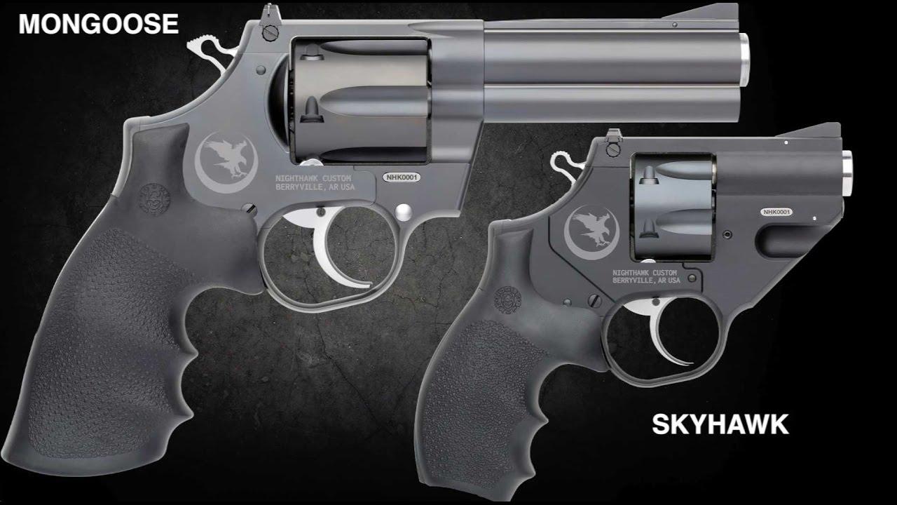 Custom Evolved Revolvers From Nighthawk Korth