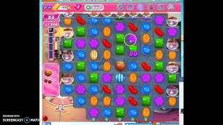 Candy Crush Level 521 w/audio tips, hints, tricks
