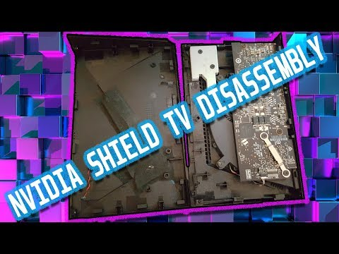 How TO DISASSEMBLE THE NVIDIA SHIELD TV (16GB) | 2018