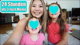24 Stunden unser Leben als junge Familie 🤱🏼 Alltag als 3-fach Mama organisieren VLOG | Mamiseelen