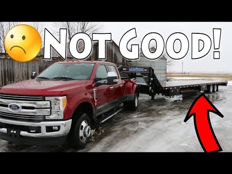 Load Trail Trailer Is Down