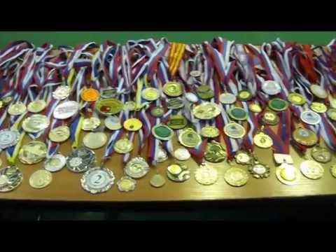 медали мастера спорта России Андрея Власова