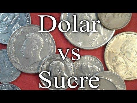 La llegada del dólar al Ecuador | La extinción del Sucre | El dolar como moneda oficial.