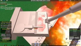 ROBLOX Armoured Patrol | M109 Self Propelled Gun OP?