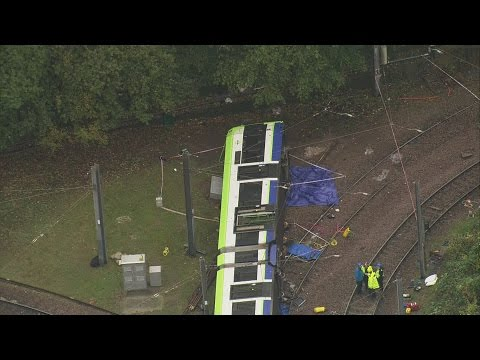 Police have confirmed there are fatalities after a tram derailed in South London