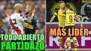 Superclásico argentino en Libertadores y RESUMEN jornada en ligas EUROPEAS:  Mucho fútbol amigos