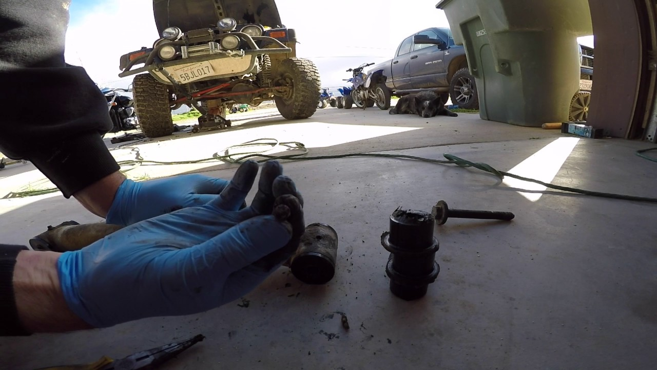 2003 Jeep Ribicon Lower Control Arm Bushing Replacement