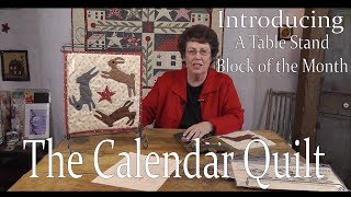 Gambar cover Introducing Jan Patek's Calendar Quilt- A Table Stand Block of the Month 2014