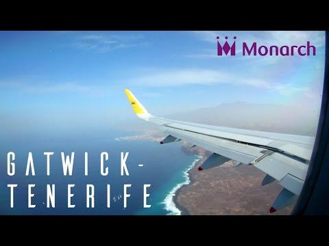 FULL FLIGHT | Monarch Airbus A321 | London Gatwick - Tenerife South | ZB280 G-ZBAM