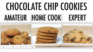 Download 4 Levels of Chocolate Chip Cookies: Amateur to Food Scientist | Epicurious Mp3 and Videos