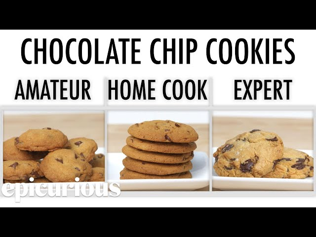 4 Levels of Chocolate Chip Cookies: Amateur to Food Scientist   Epicurious
