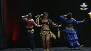 Beginners Oriental Pop Belly Dance Level 1 Student Performance to Ramy Sabry