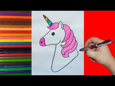 How To Draw Rainbow Unicorn, Как нарисовать Единорога Радугу для детей