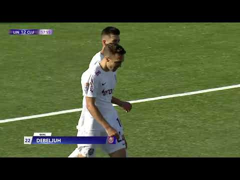 Lincoln Red Imps CFR Cluj Goals And Highlights