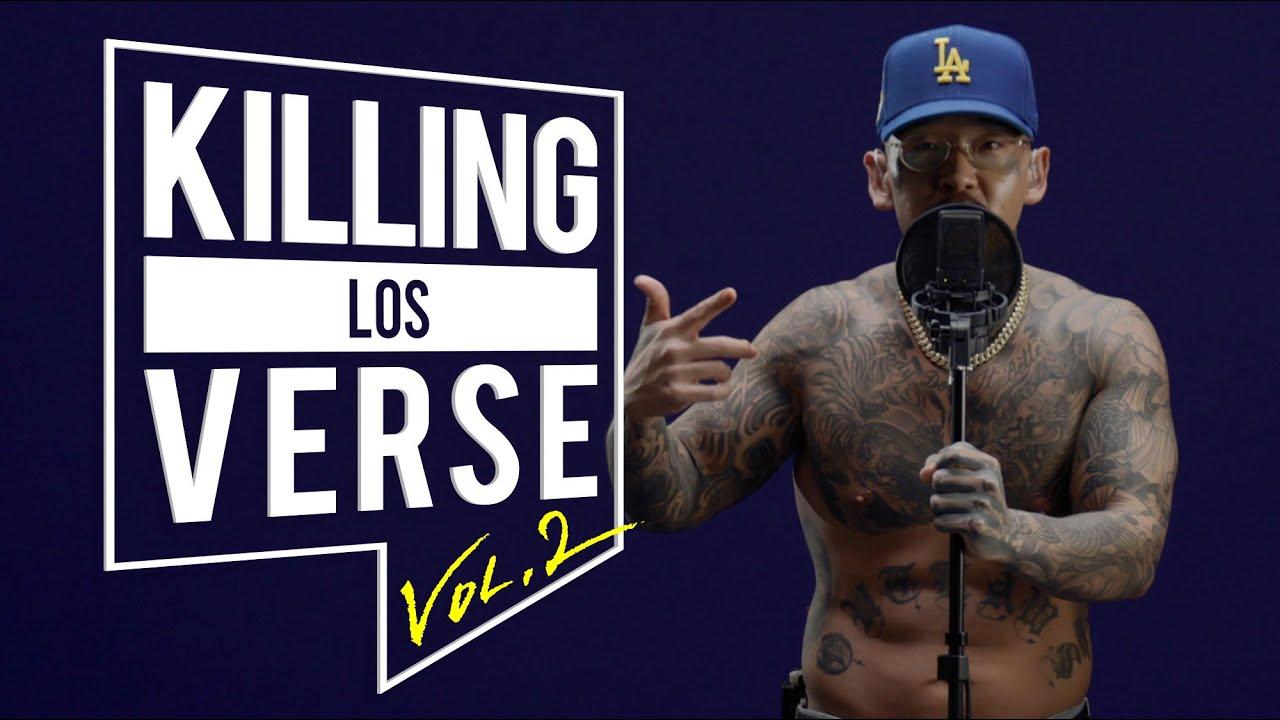[4K] Los(로스)의 킬링벌스를 라이브로! l V CYPHER, EA$Y, HUSTLE, Smile Now Cry Later, LA to Korea, Blue Lemonade