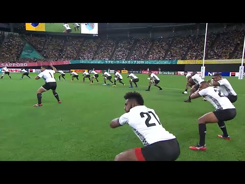 Fiji's first Cibi of Rugby World Cup 2019