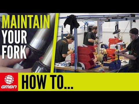 Basic MTB Fork Maintenance You Should Be Doing | Mountain Bike Maintenance