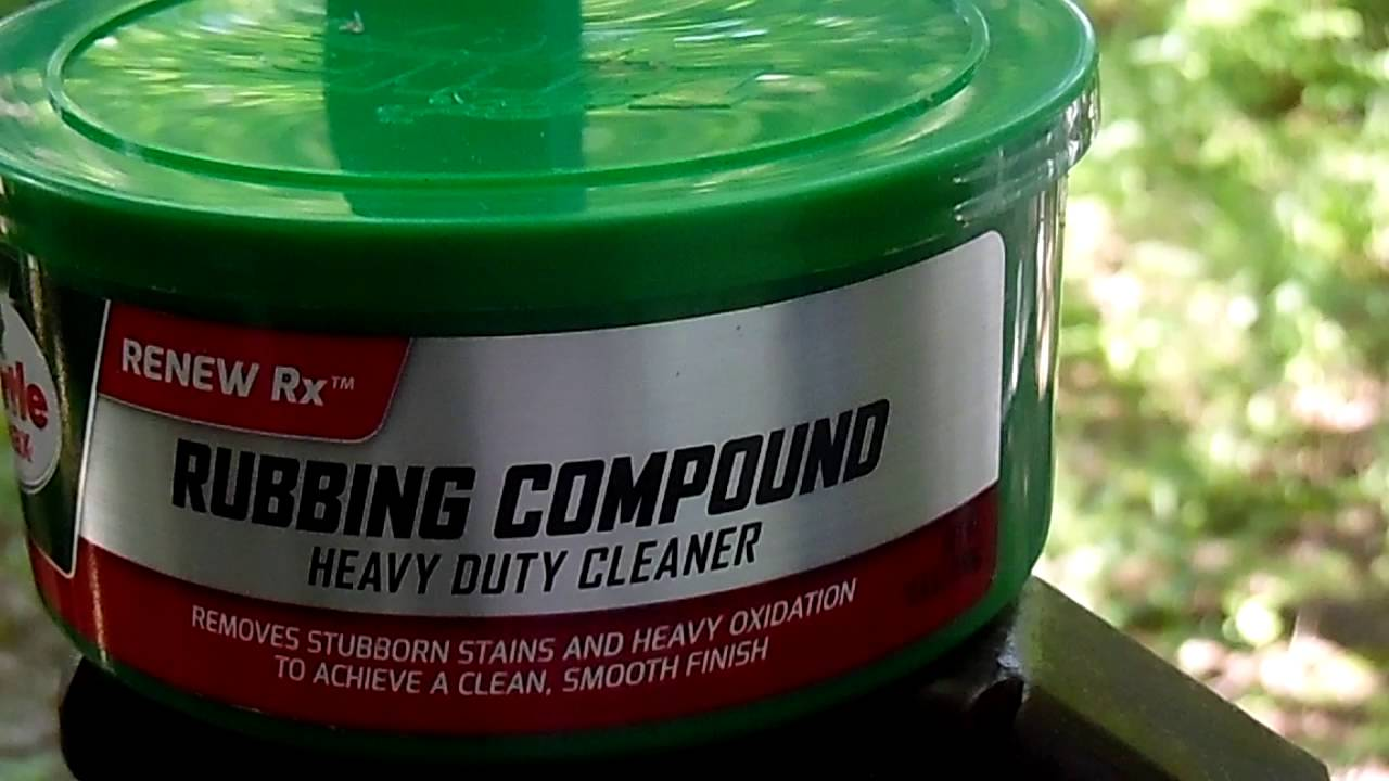 Rubbing compound AutoZone Is Also Under $15 00