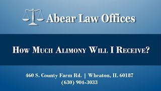 [[title]] Video - How Much Alimony Will I Receive?