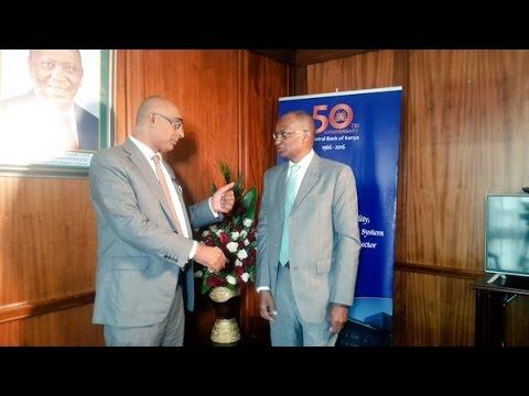 An Interview with Central Bank of Kenya Governor, Patrick Njoroge @njorogep  @CbkKenya #Mindspeak