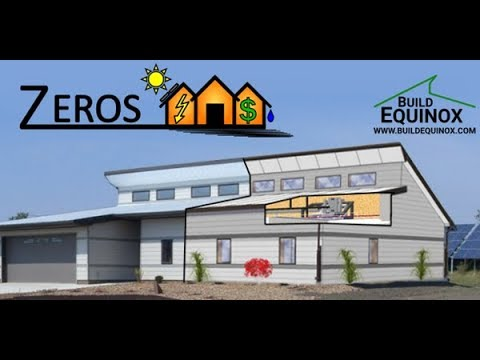 7 Steps For Designing An Economical Net Zero Energy Residence And Tools To Help