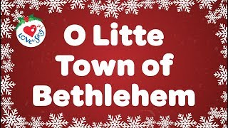 Kids Christmas Songs | O Little Town of Bethlehem | Children Love to Sing Kids Songs