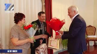 Золотой юбилей свадьбы отметили супруги Лопатины