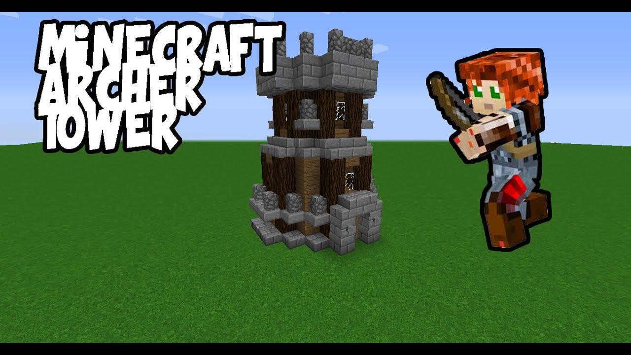 Minecraft Medieval Archer Tower 1.7/1.8+