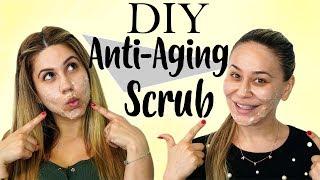 DIY Honey Scrub for Anti-Aging