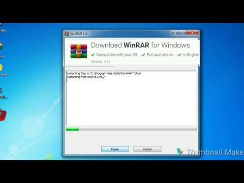 How To Download Install And Use WiNRAR software Bangla Tutorial thumbnail