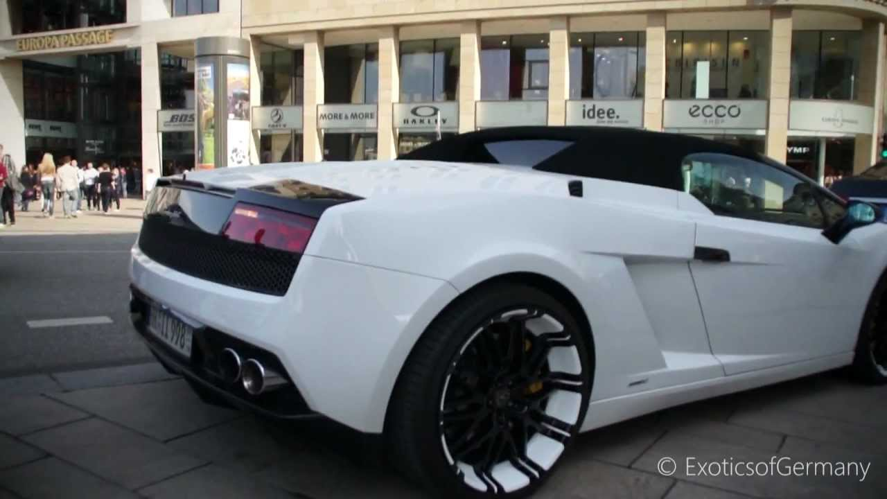 Lamborghini Gallardo Lp560 W Aftermarket Exhaust On 21 Rims Youtube