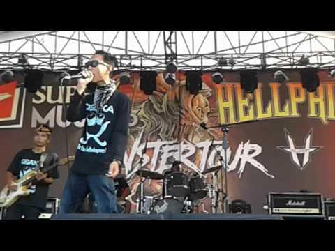 OSAKA - SI DUKI KALIMANTARA (Half Video) Live Audisi 2 Cirebon Hellprint Monster Tour 2016