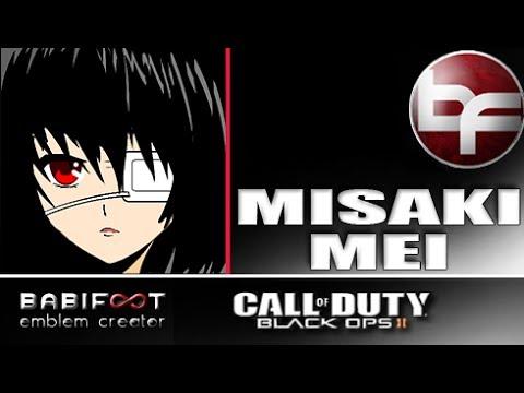 Cod Black Ops 2 Emblem Tutorial Misaki Mei Youtube