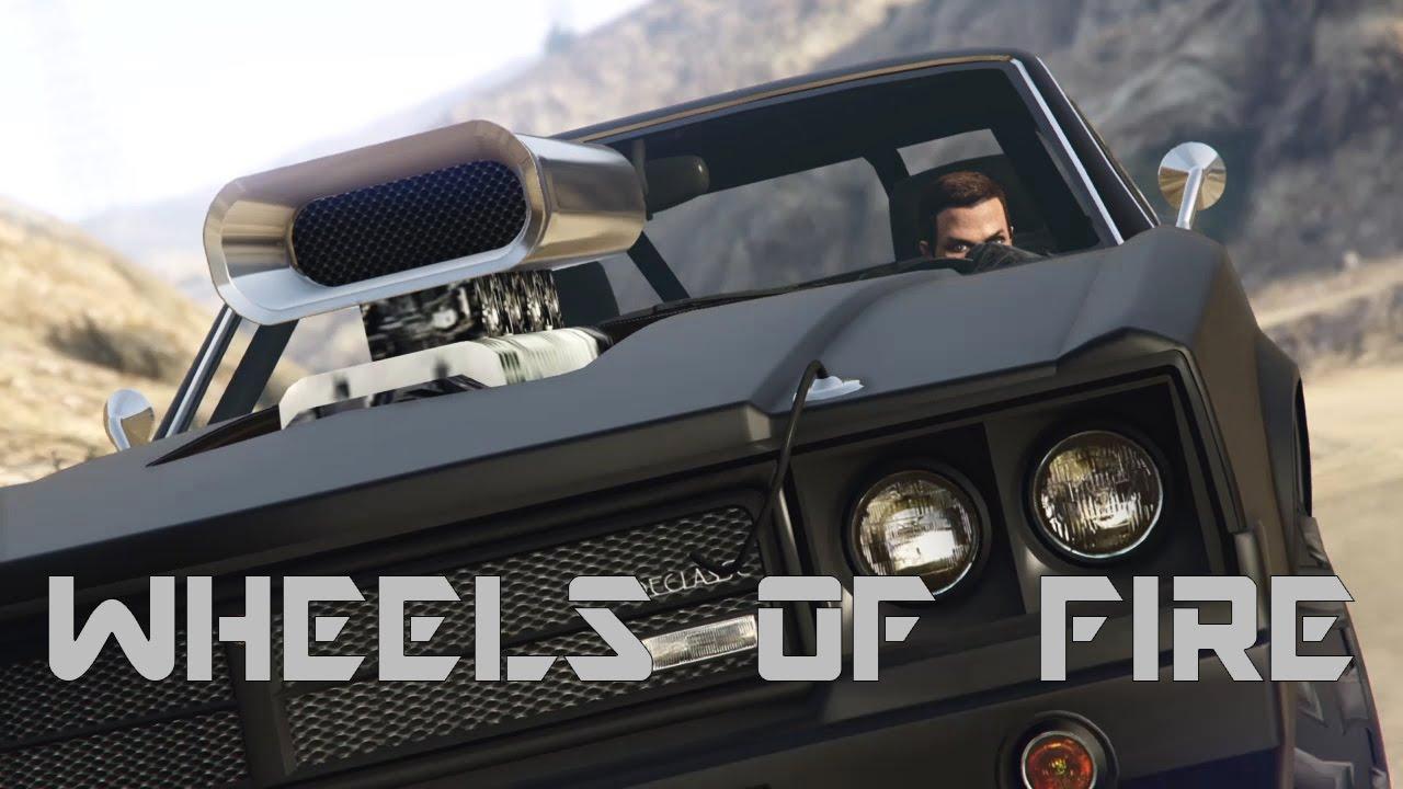 Download GTA 5 WHEELS OF FIRE (1985 trailer)