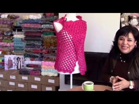 TEJE CHALECO MARÍA - En Crochet fácil y rápido - Yo Tejo con LAURA ... 7ea159885dba