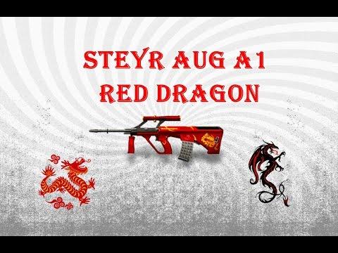 [CF]-ROLETANDO na minha FAKE #2-Steyr Aug A1 Red Dragon